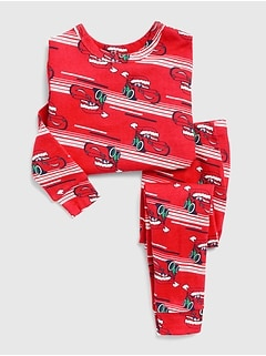 babyGap &#124 Disney Cars Holiday PJ Set