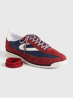 Gap | Tretorn® Rawlins Retro Lace-Up Sneakers