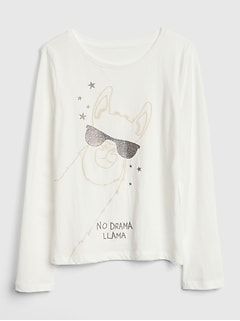 Shine Graphic Long Sleeve T-Shirt