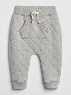 Quilted Pull-On Pants