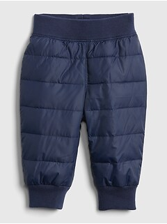 Baby Quilted Puffer Pants