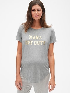 Maternity Graphic Sleep T-Shirt