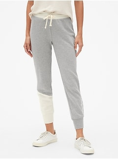 Gap Originals Spliced Joggers in French Terry