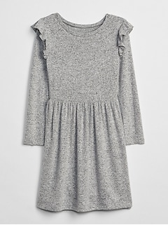 Softspun Ruffle Dress