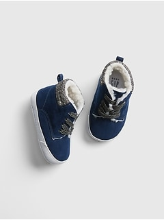 Sherpa-Lined Sneakers