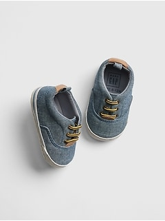 Baby Chambray Sneakers