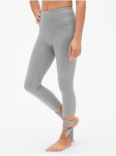 GapFit High Rise Barre Strap 7/8 Leggings