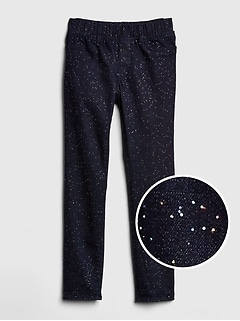 Superdenim Glitter Jeggings with Fantastiflex