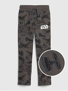 GapKids &#124 Star Wars&#153 Pull-On Pants in Fleece