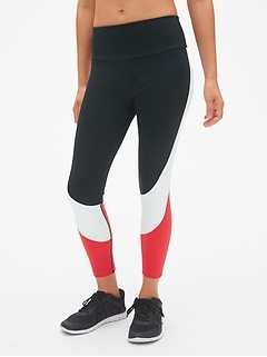 GFast High Rise Blackout Colorblock 7/8 Leggings