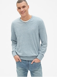 The Mainstay V-Neck Sweater