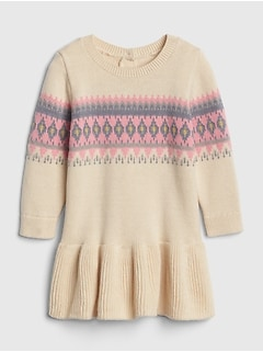 Fair Isle Sweater Dress