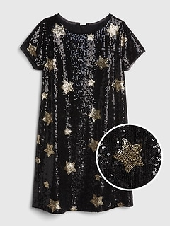 Star Sequin Dress