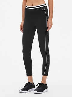 GapFit Colorblock 7/8 Leggings in Eclipse