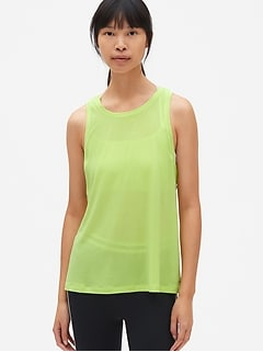 GapFit Breathe Strappy Detail Tank Top