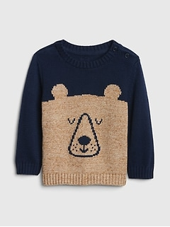 Bear Pullover Sweater