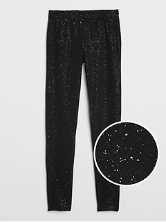 Sparkle Leggings in Stretch Jersey