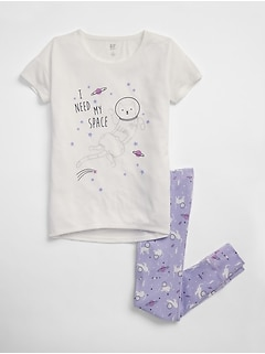 Space Cat PJ Set