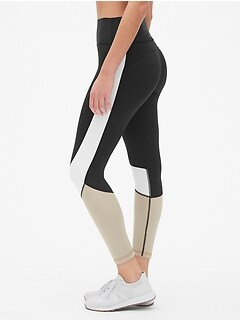 GapFit High Rise Colorblock 7/8 Leggings in Sculpt Revolution