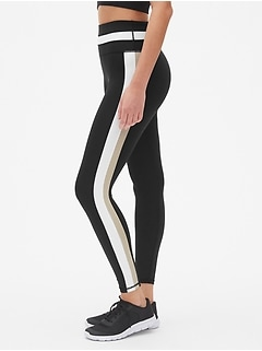 GapFit High Rise Colorblock Full Length Leggings in Sculpt Compression