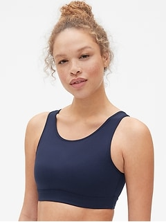 GapFit Eclipse Medium Support Scoop-Back Sports Bra