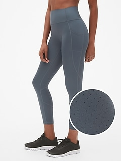 GFast High Rise Perforated Pocket 7/8 Leggings in Sculpt Revolution
