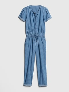Kids Superdenim Jumpsuit