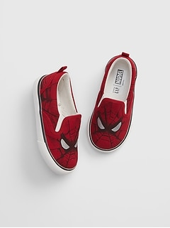 babyGap| Marvel© Slip-On Sneakers