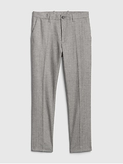 Wool Pants in Slim Fit with GapFlex