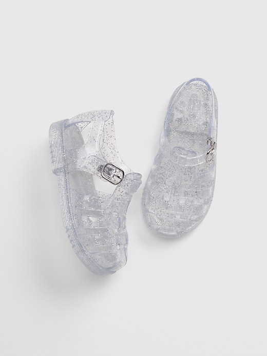Toddler Glitter Jelly Shoes
