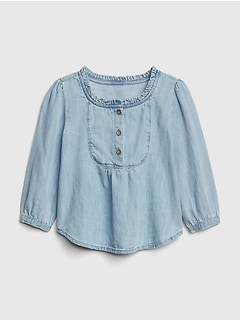 Denim Swing Top