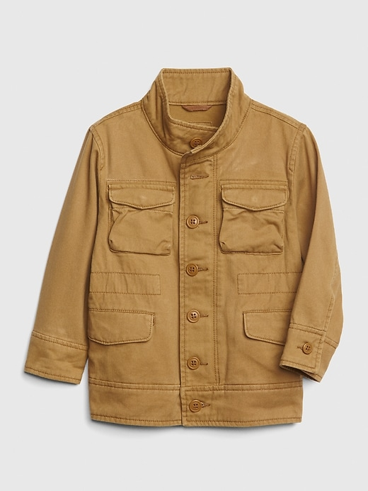 Toddler Field Jacket In Twill