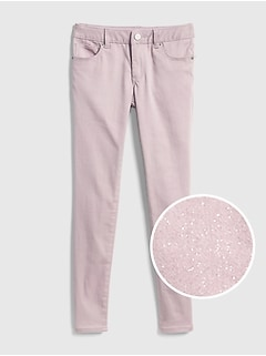 Superdenim Glitter Super Skinny Jeans with Fantastiflex