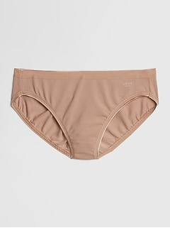 Stretch Cotton High Leg Brief