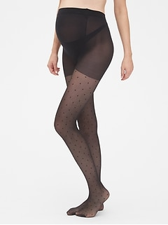 Maternity Panel Tights
