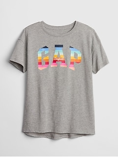 Kids Gap Logo Short Sleeve Tunic T-Shirt