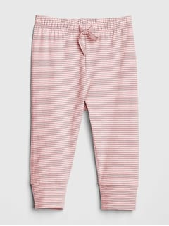 Baby Organic Cotton Pull-On Pants