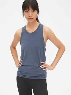 GapFit Breathe Open-Back Tank