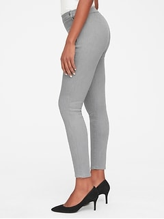 High Rise True Skinny Ankle Jeans in Sculpt