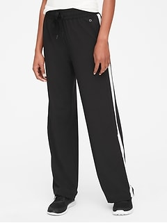 GapFit Side-Stripe Track Pants