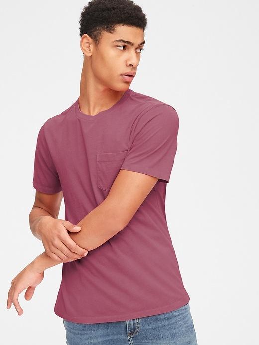 7c159bb2 Vintage Wash Pocket T-Shirt | Gap