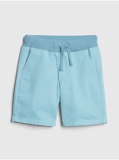 Pull-On Khaki Shorts