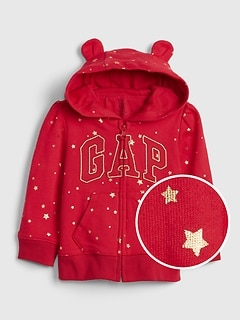 Gap Logo Star-Foil Sweatshirt