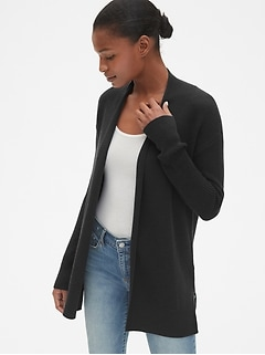 True Soft Open-Front Cardigan Sweater