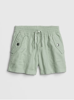 Kids Cargo Pull-On Shorts