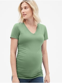 Maternity Pure Body V-Neck T-Shirt