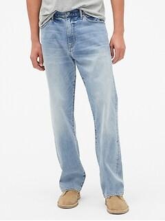 Relaxed Jeans with GapFlex
