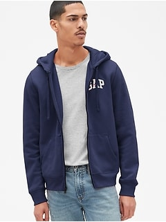 Gap Logo Fleece Full-Zip Hoodie