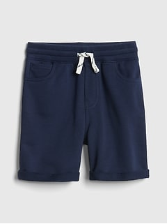 5-Pocket Shorts in French Terry