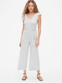 Softspun Wide-Leg Jumpsuit